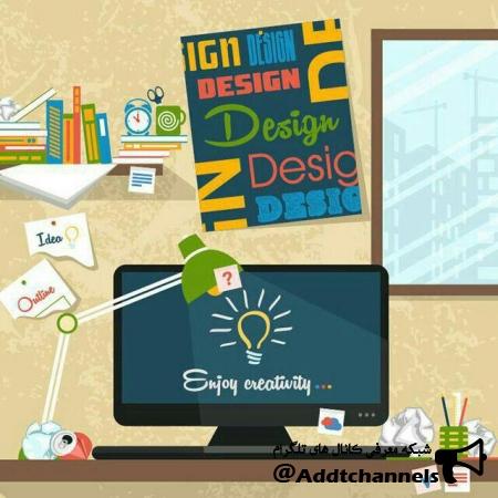کانال تخصصی طراحی گرافیک وب
