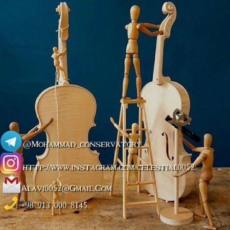 کانال هنرکده ساخت آلات موسیقی